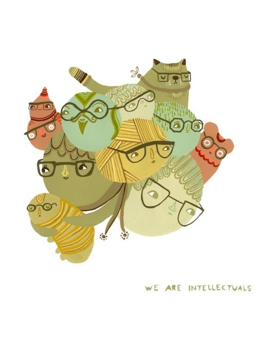 We Are Intellectuals © Laura Berger