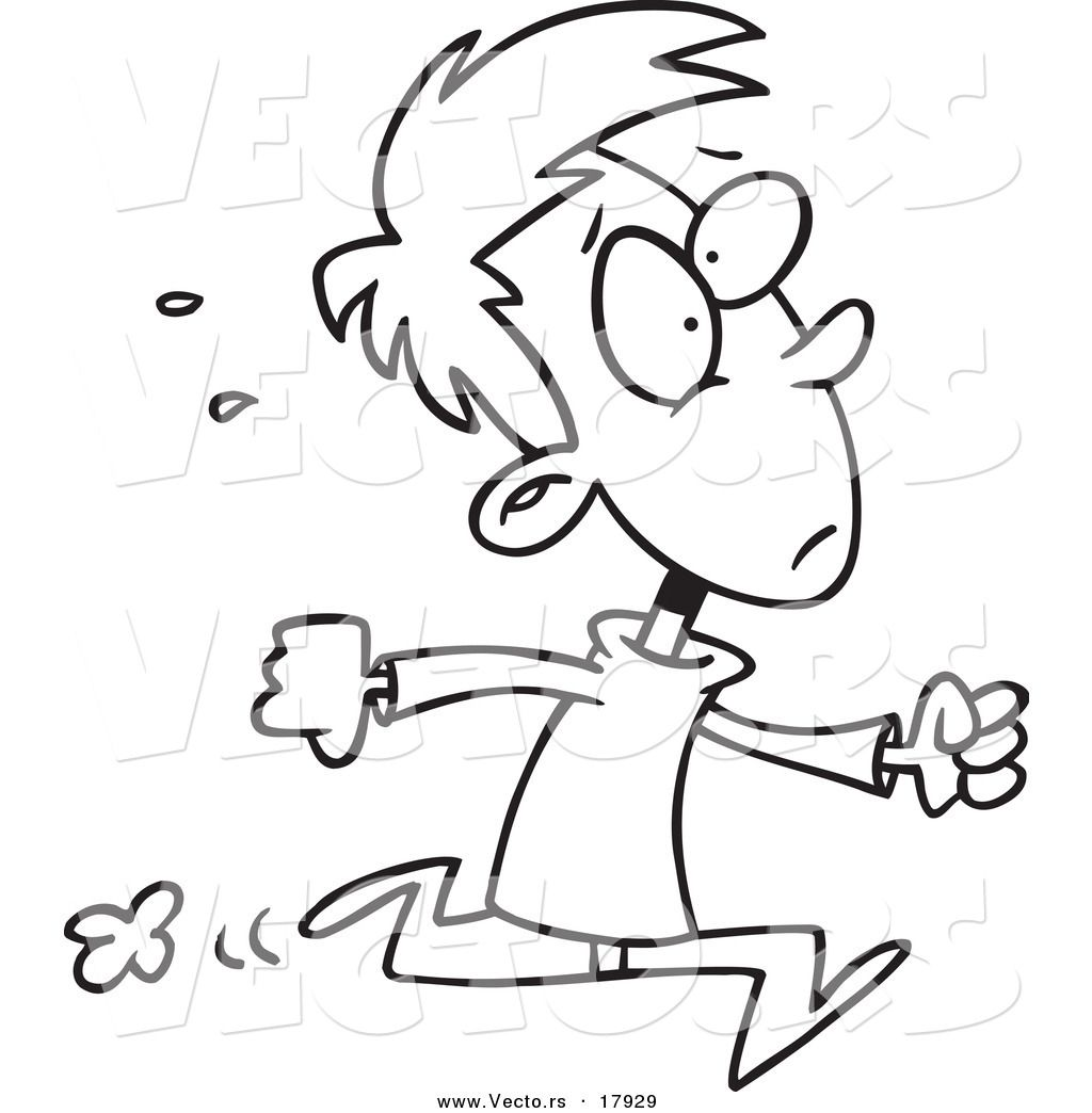 coloing pages of children running buscar con google dibujos