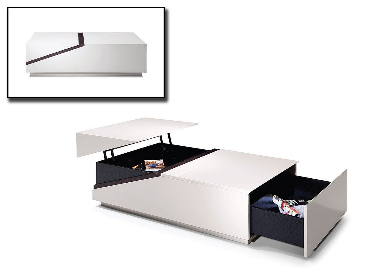 Contemporary Coffee Table with Storage