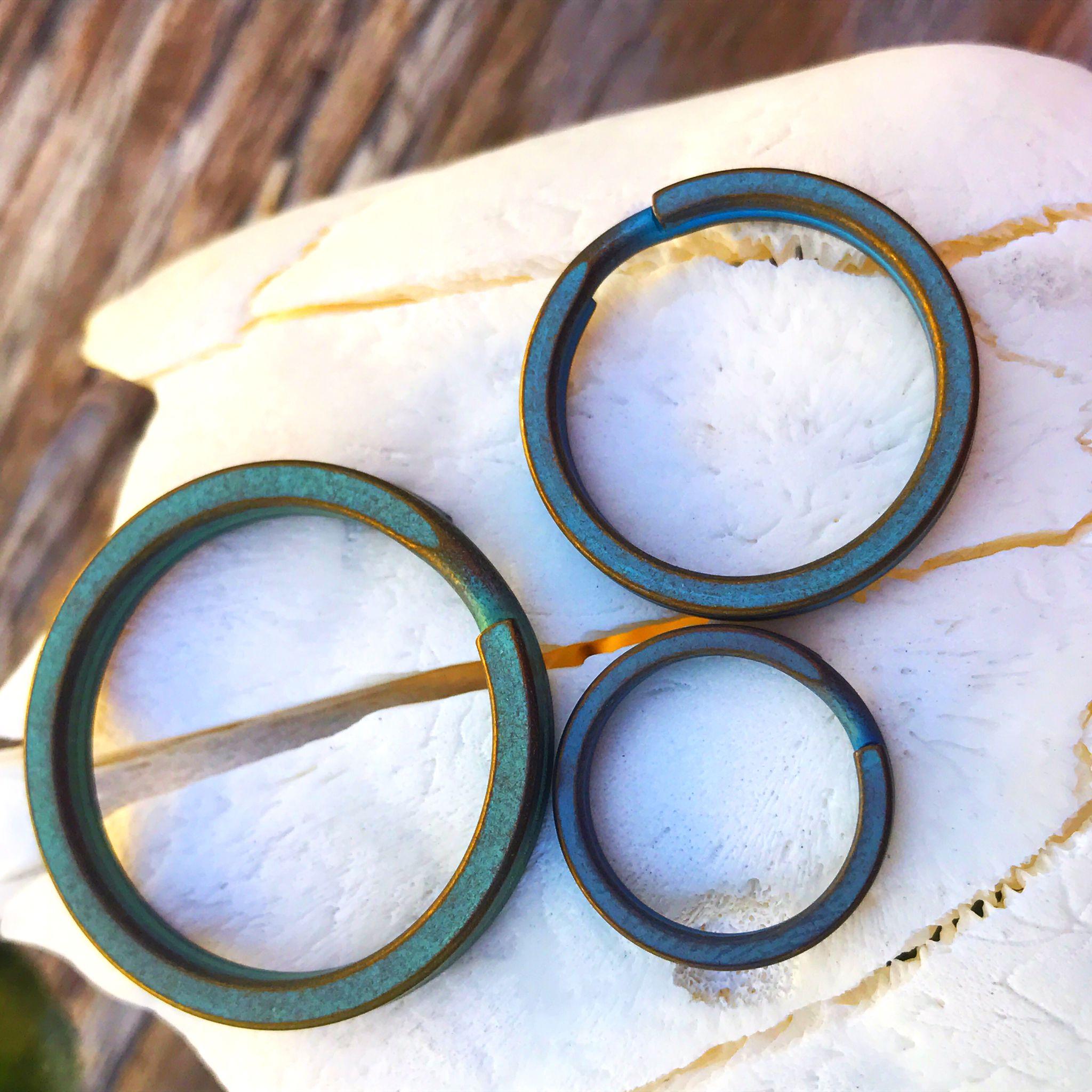 Titanium Split Ring [tisurvival.com/] #Titanium #TiSurvival #TiSurvivalSplitRings #RustProof #SplitRing