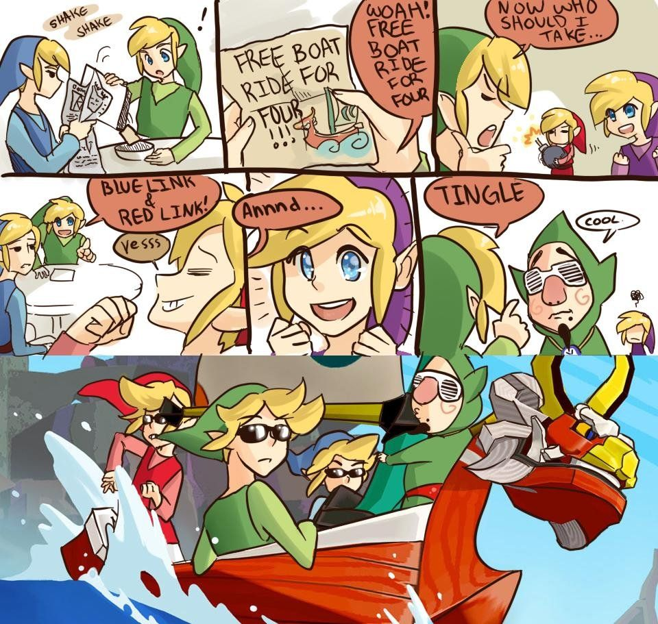 The Lonely Island Wind Waker Mash Up My Life Is Complete The