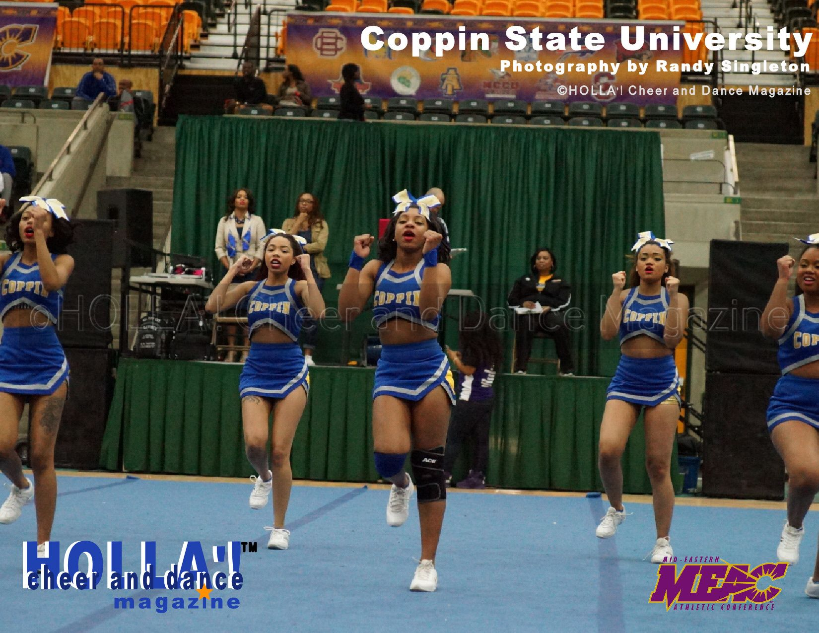 Coppin State University See More Meac Cheerleading Competition Pictures At Www Hollacheerdancemagazine C Cheerleading Competition Dance Magazine Cheerleading