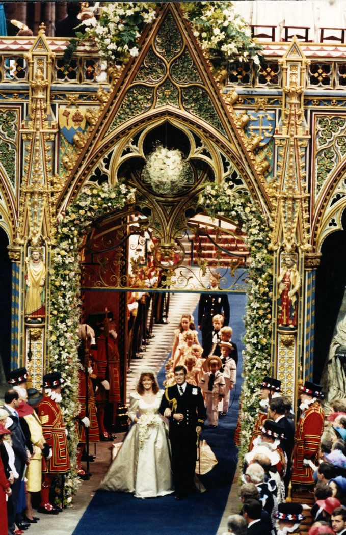 Royal Weddings In History Photos Royal Weddings Sarah Ferguson Sarah Duchess Of York