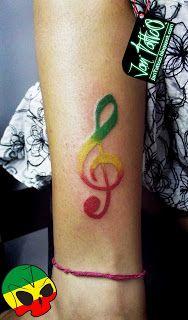 Reggae 3 Reggae Tatoo