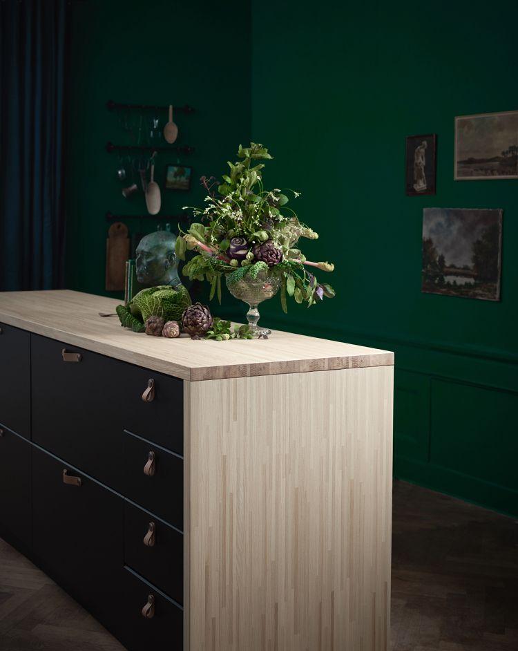 PINNARP Holz Arbeitsplatte Küche Ikea 2018 Wohnideen Küche Pinterest