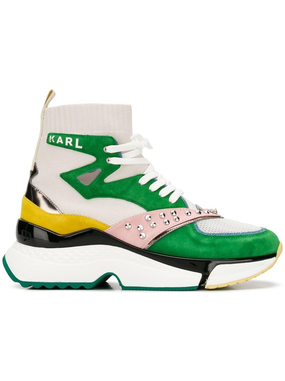 Karl Lagerfeld Aventur hi-top Sneakers