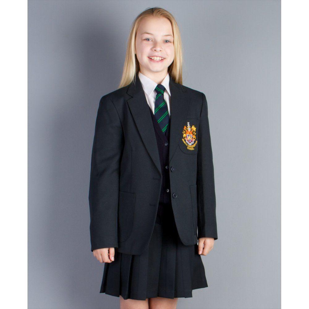 north chadderton girls pleated skirt