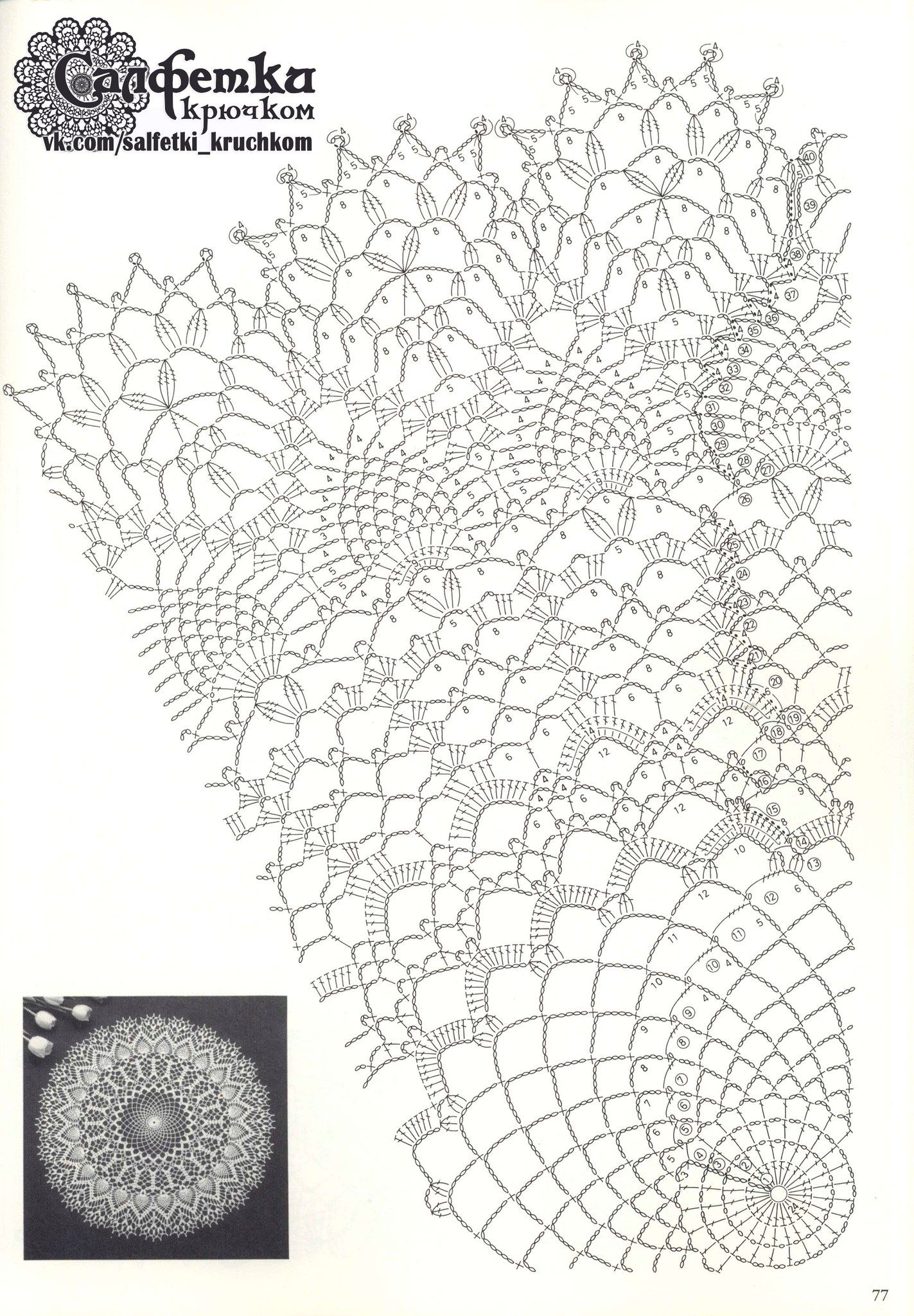 Салфетки – 1,961 photos | VK | crochet 1 | Pinterest | Carpeta ...