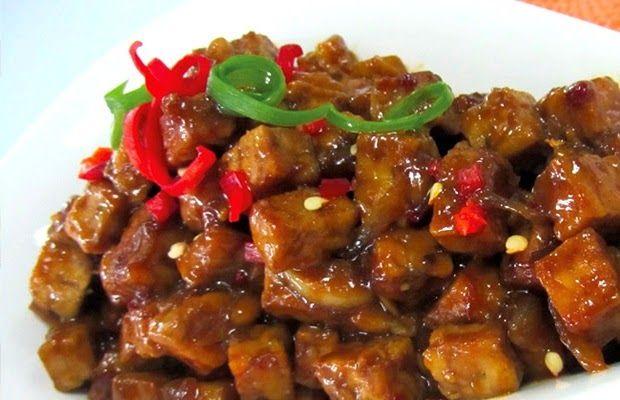 Resep Cara Membuat Tempe Orek Kering Kecap Enak Manis Resep Tempe Resep Masakan Indonesia