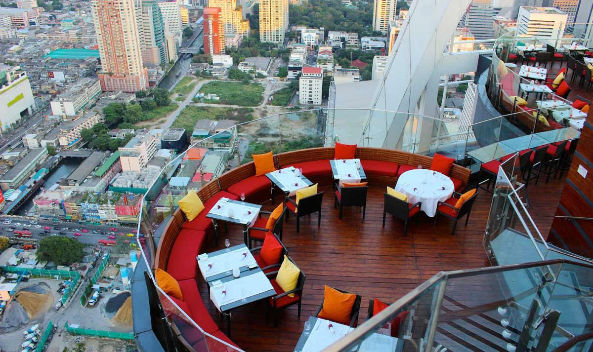Red Sky Sky Bar Bangkok Rooftop Bangkok Sky Bar