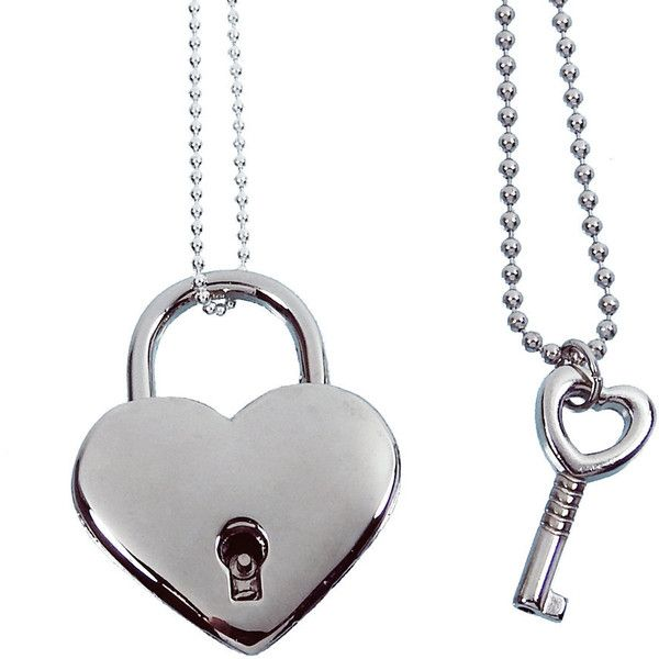 Silver heart lock and key couples necklace real working lock pendant silver heart lock and key couples necklace real working lock pendant 35 pab aloadofball Gallery