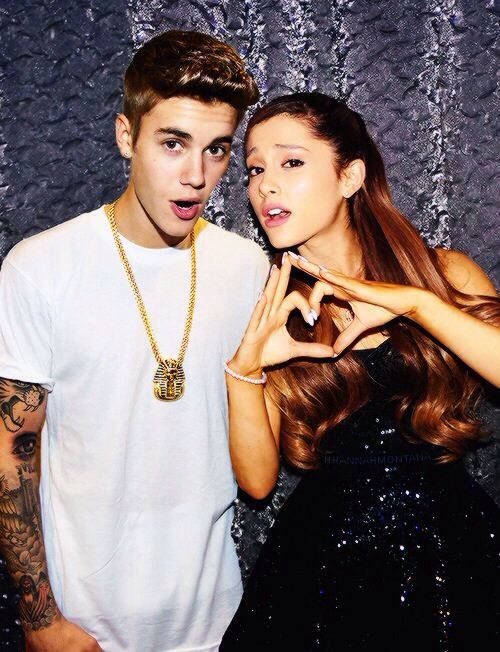 Ariana and Justin #Jariana