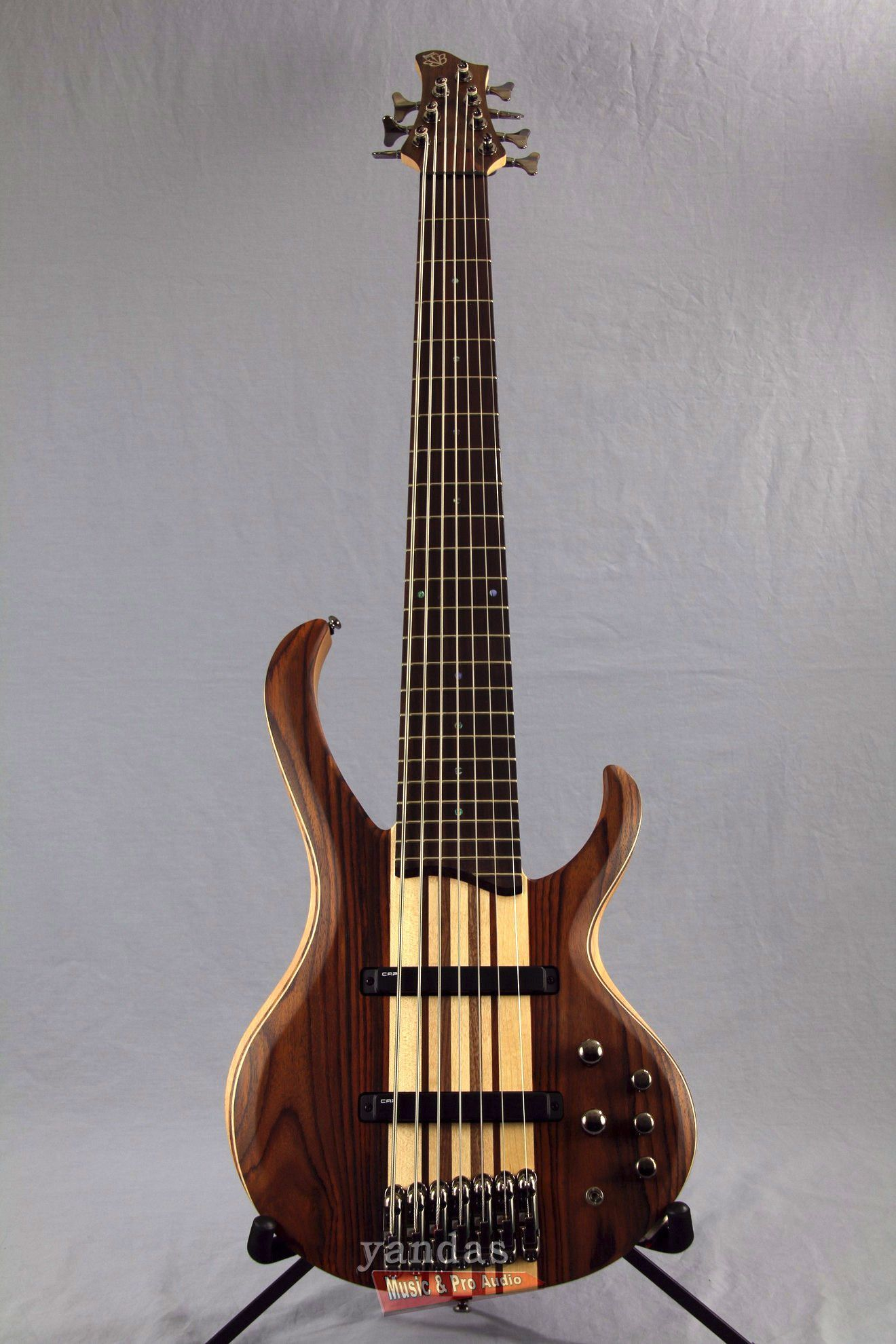ibanez btb7e 7 string bass guitar in natural flat musical instruments guitar double bass. Black Bedroom Furniture Sets. Home Design Ideas