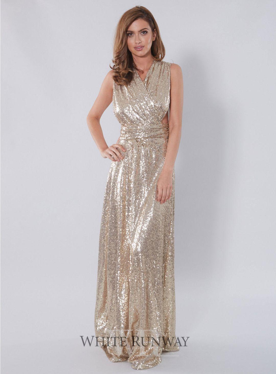 Sequin Ballgown Multiway Dress In 2019 Multi Way
