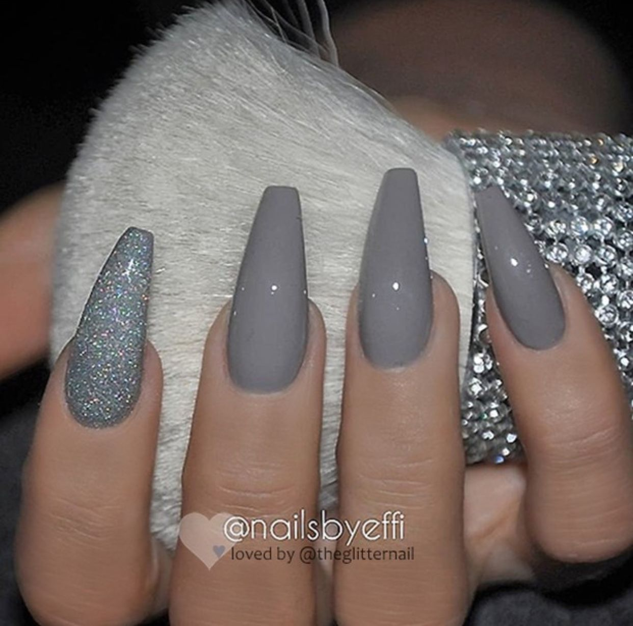 Love The Color Matte Nails Design Prom Nails Gorgeous Nails