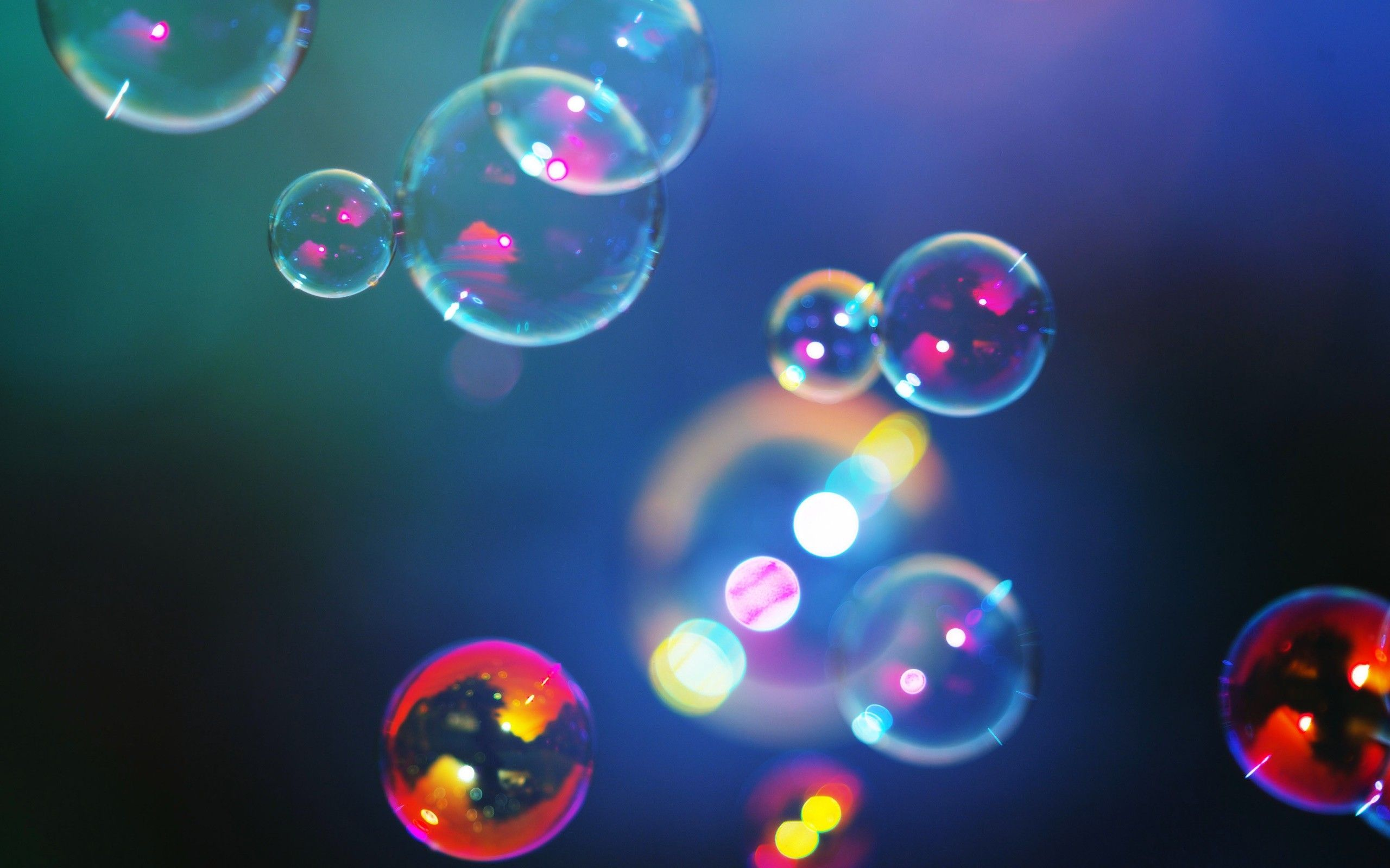 shimmering colorful bubbles and hd quality wallpaper for iphone ipad android samsung desktop pc mac