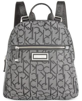 dfc8df3a44 CALVIN KLEIN Calvin Klein Dressy Nylon Backpack. #calvinklein #bags #nylon # backpacks #