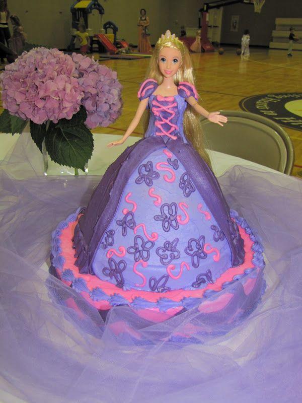 Rapunzel Cake Buttercream For Nisha Riley S Birthday Party