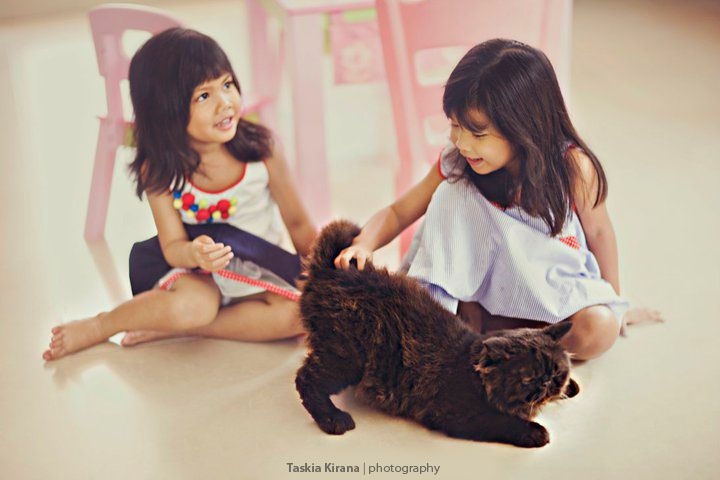 Three Little Princess by Taskia Kirana Photography