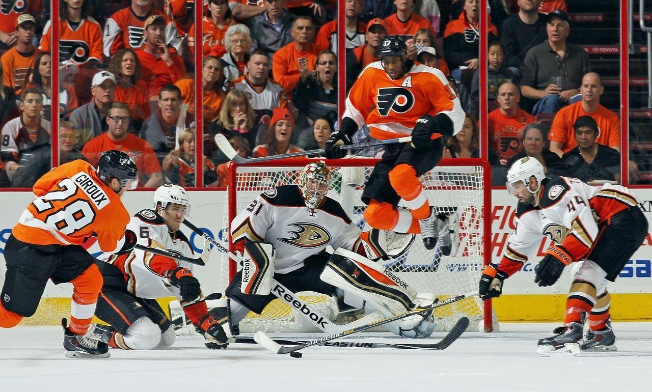 Snap Shots NHL Season's Early Action Nhl season
