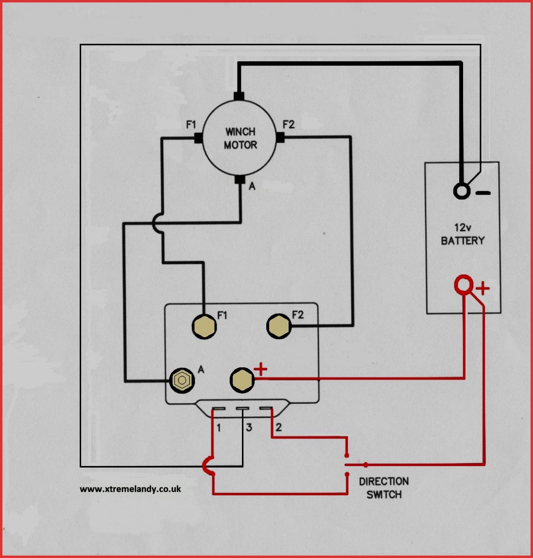 Warn M8000 Winch Wiring Diagram
