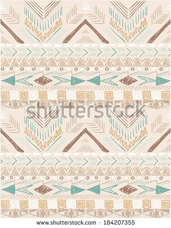 Seamless pattern in ethnic style 1