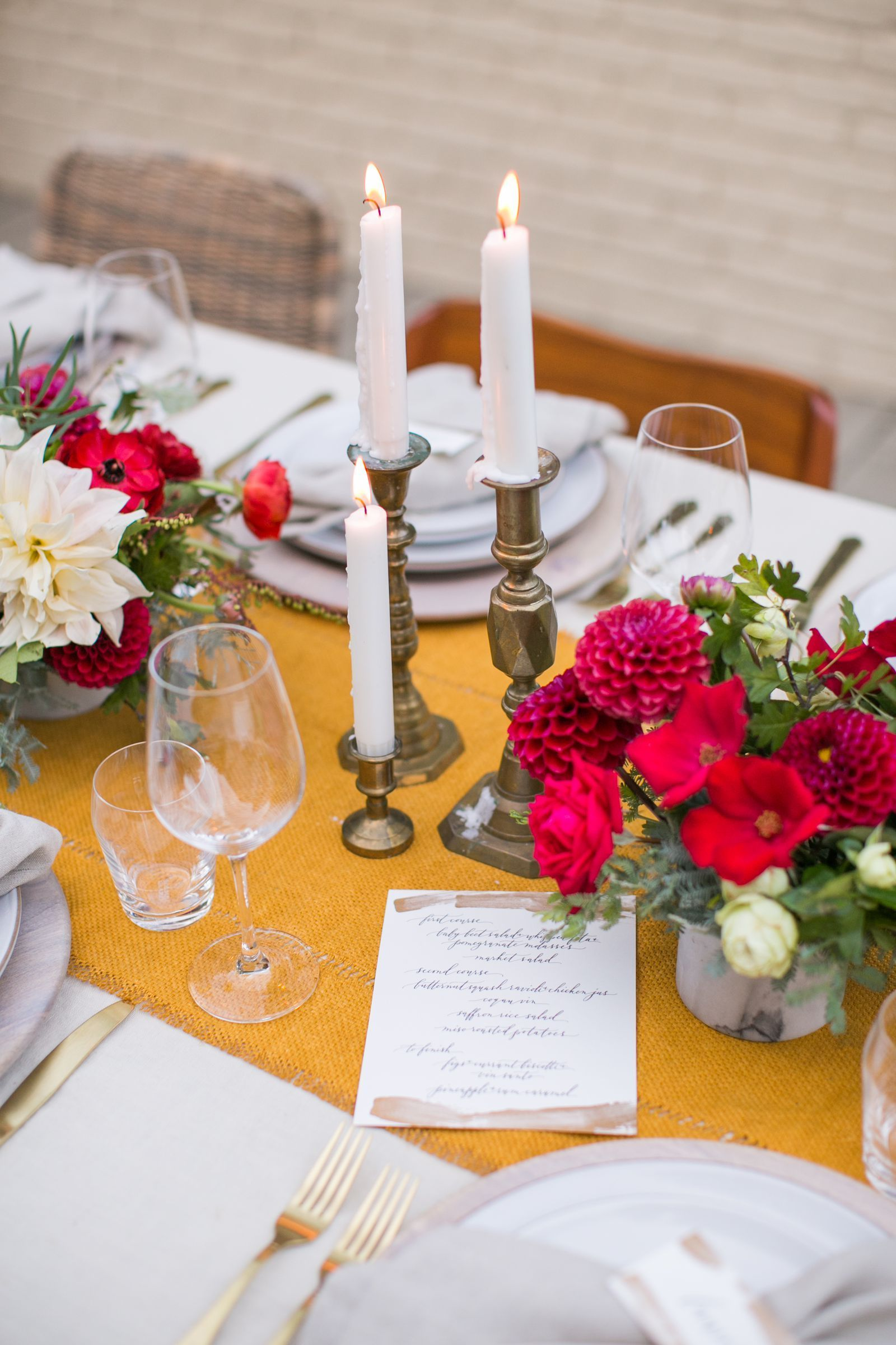 Table Setting Ideas For Romantic Dinner With Your Partner Hello