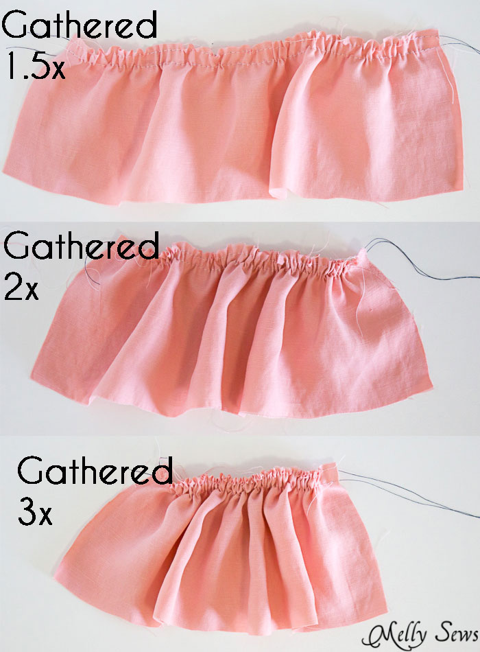 How to Sew a Ruffle and Add a Ruffle to a Garment - Melly Sews