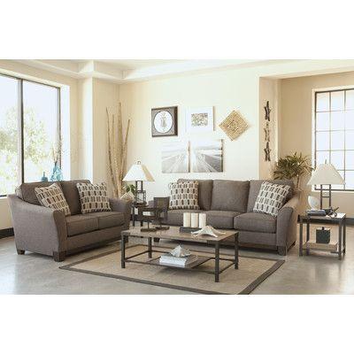Signature Design By Ashley Janley 7 Piece Living Room Set U0026 Reviews |  Wayfair
