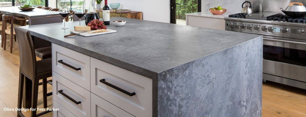 A Review Of Caesarstone S Rugged Concrete Dream Kitchen