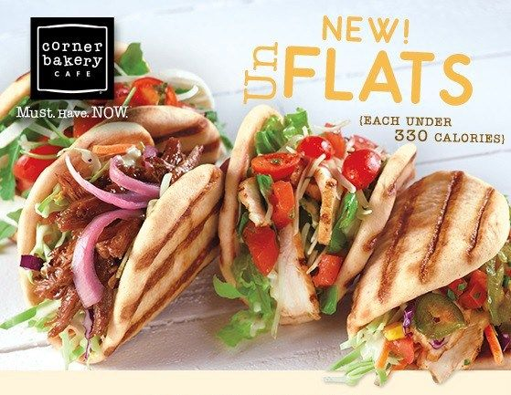 FREE Grilled Flat From Corner Bakery!!!  | MyPantryPartners