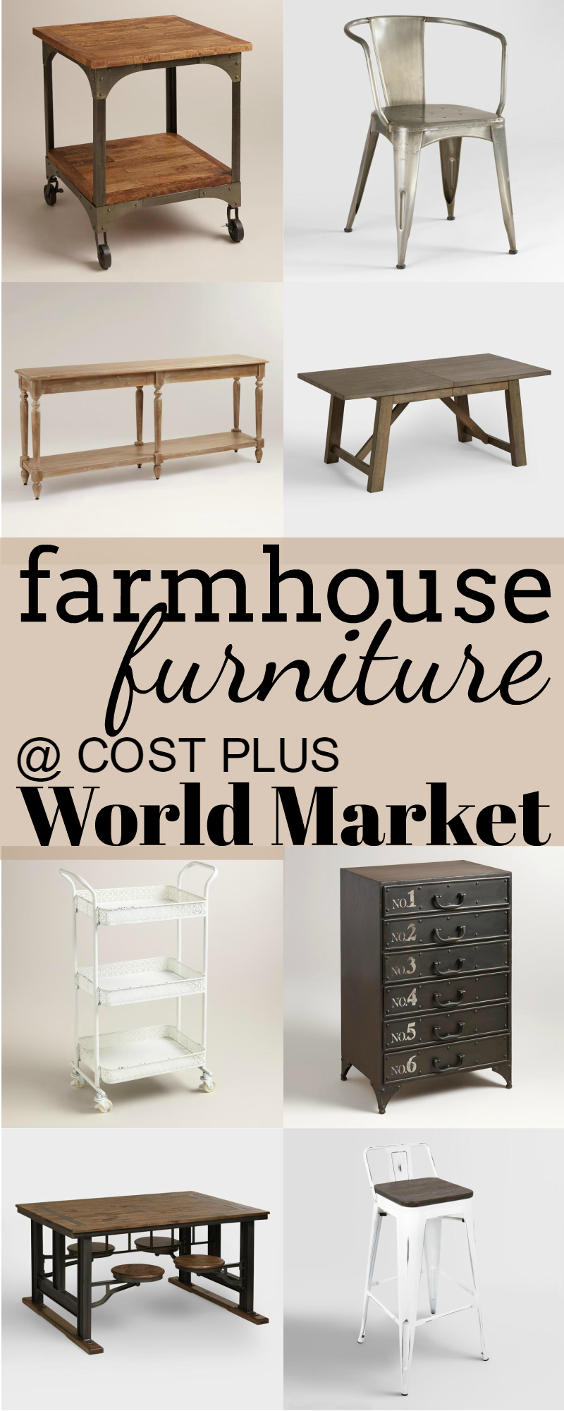 Farmhouse Furniture At Cost Plus World Market