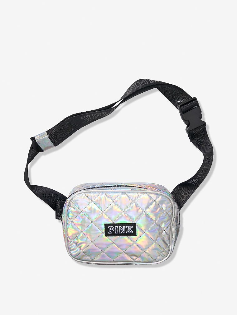 f29cf5c57ae5 PINK Quilted Belt Bag | Products in 2019 | Bag accessories, Bags ...