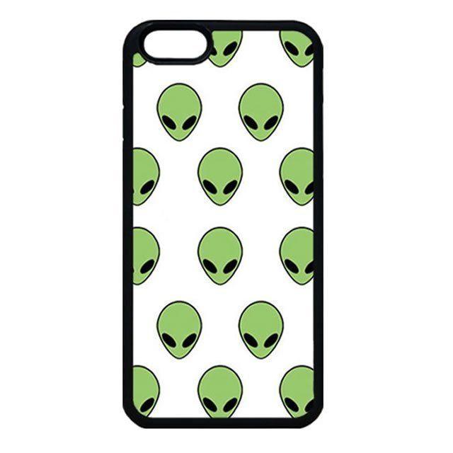 Alien tumblr grunge pattern iphone 7 case, iphone 6 case