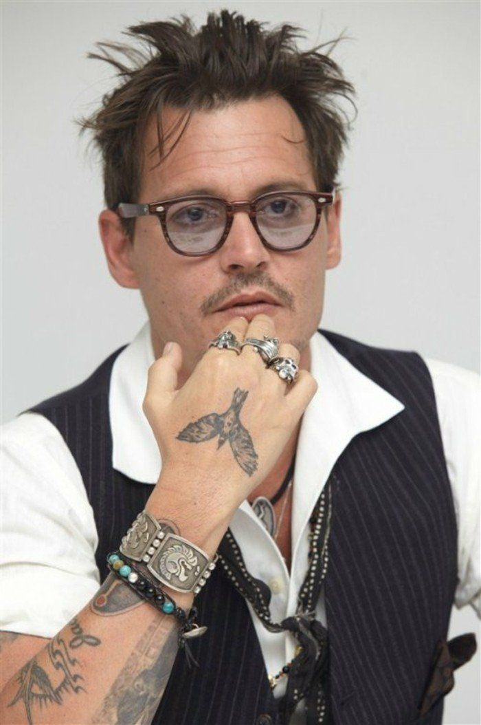 Cool Idees Pour Le Tatouage Poignet Males Tattoos Johnny Depp
