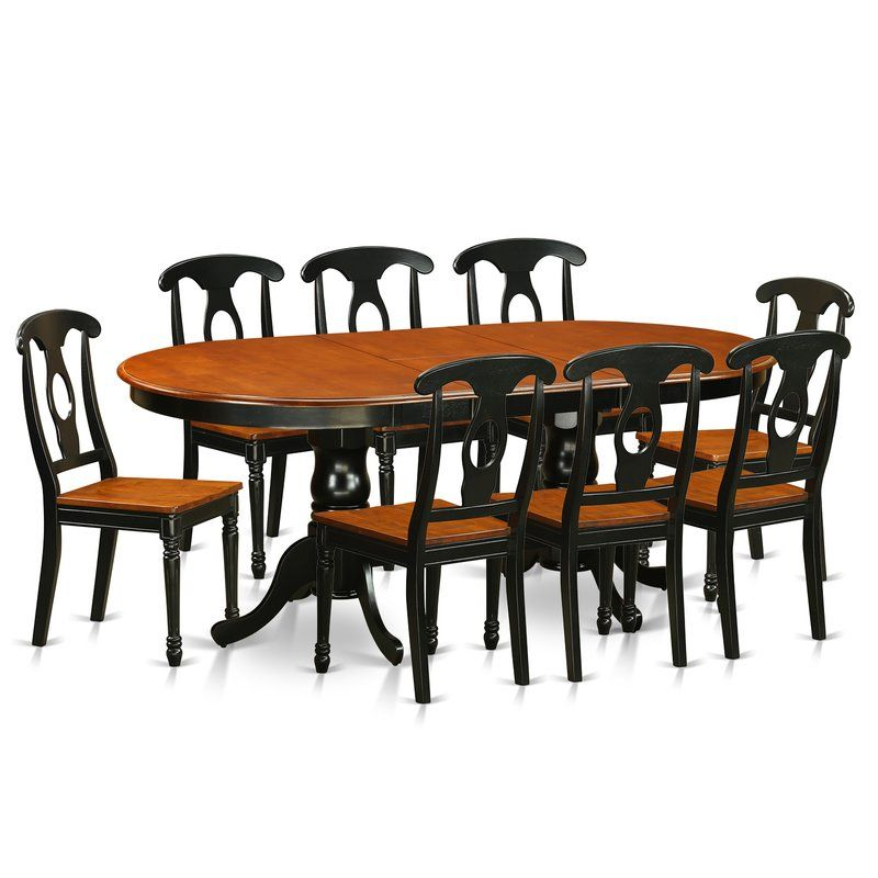 Pilcher Extendable Solid Wood Dining Set Niños