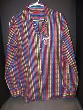 Nwt Luchiano Visconti Black Navy Floral Cotton Short Sleeve Polo Shirt
