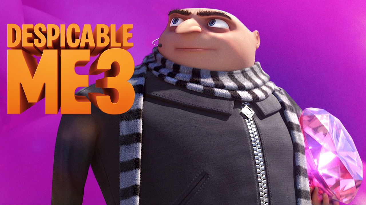 Despicable Me 3 1hr 29m 2017 Via New On Netflix Usa After Failing To Arrest An 80s Child Star Turned Supervill Despicable Me 3 Netflix Netflix Movies