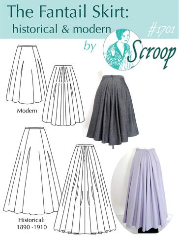 The Scroop Fantail Skirt: Historical + Modern   Röcke/Kleider ...