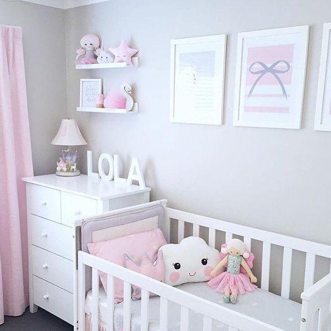 Quarto Pro Bebe On Instagram Quarto Pro Bebe Nao Vendemos Os Itens Da Foto Perfil Apenas Para Inspiracao Vi Baby Room Decor Baby Girl Room Baby Cribs
