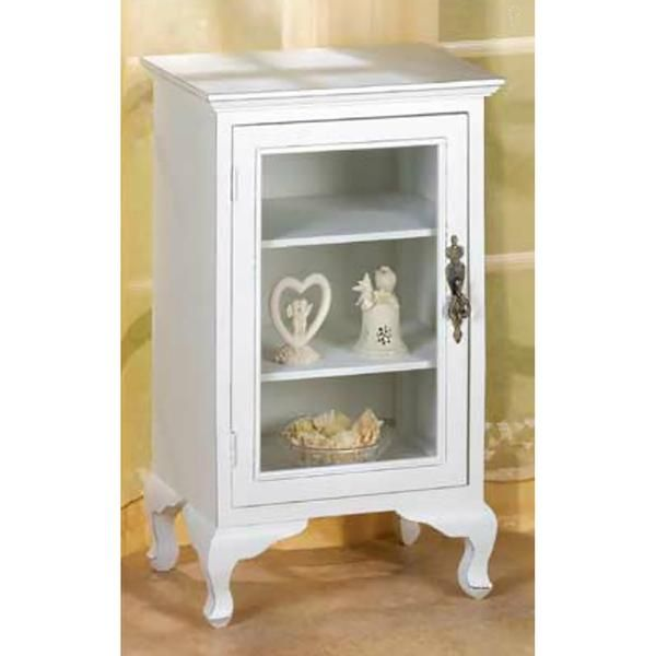 Simply White Storage Cabinet