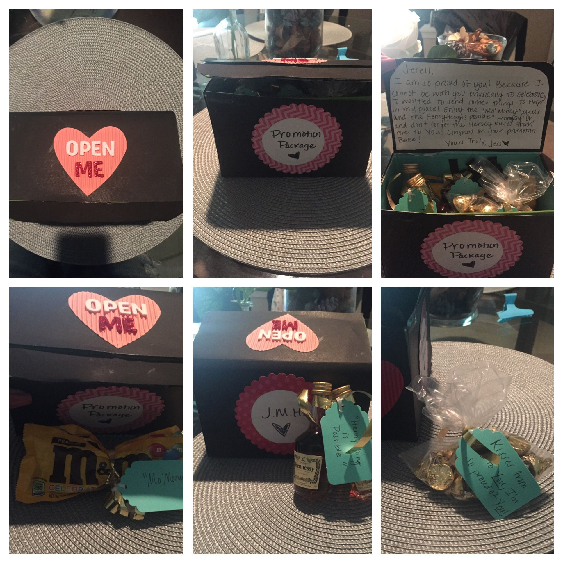 I Made This Promotion Package Gift For My Boyfriend Who