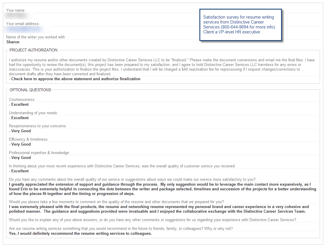 Resume Writer Nyc Comments From A Cfo Client Of Michelle Dumas' Executive Resume .