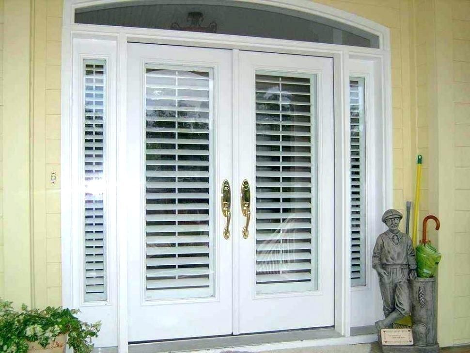 Sliding Door With Built In Blinds Patio Door Built In Blinds