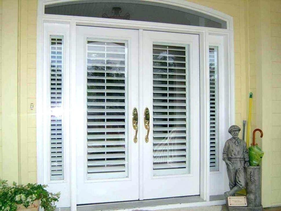 Sliding Door With Built In Blinds Patio Door Built In Blinds Sliding French Door Coverings Door Coverings French Doors