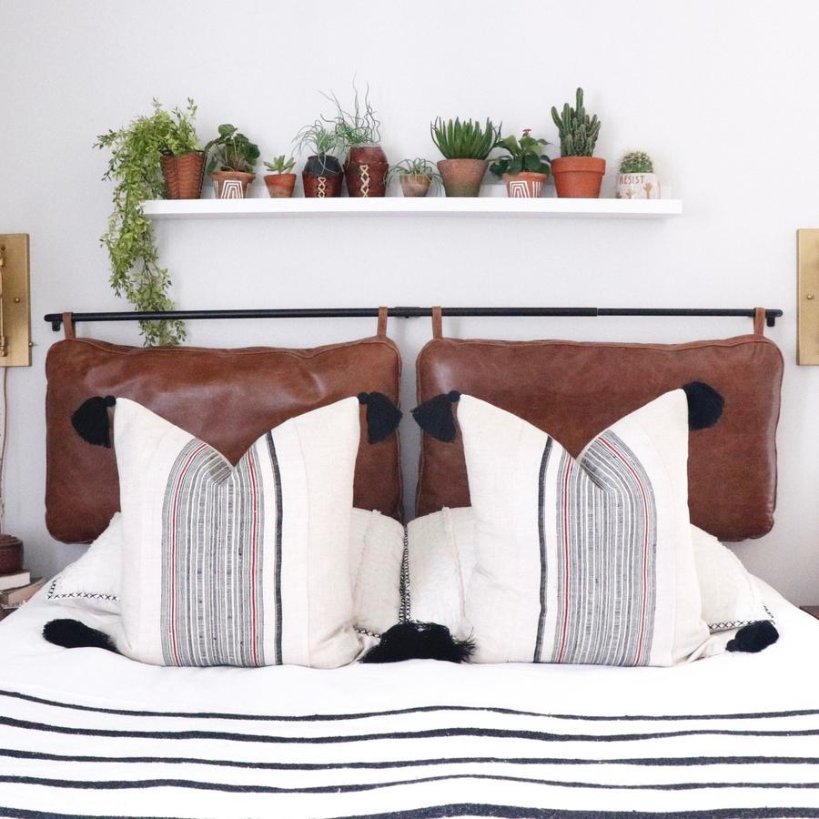The Rachael Queen Headboard Cushion Set | Cushion ... on Cognac Leather Headboard  id=54787