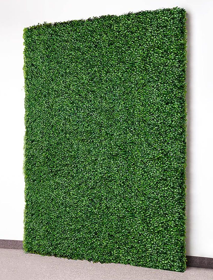 faux boxwood wall panels for rent wall backdrops faux on interior using artificial boxwood panels with flowers id=36223