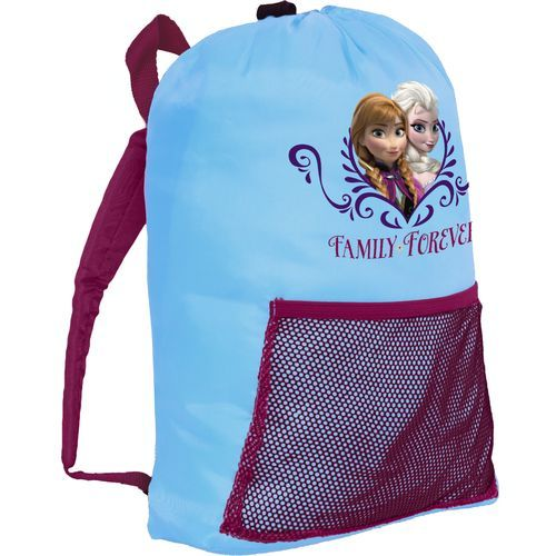Disney Kids Frozen Sleeping Bag In Sling Pack Knap Sack With Mesh Pock Available At Academy