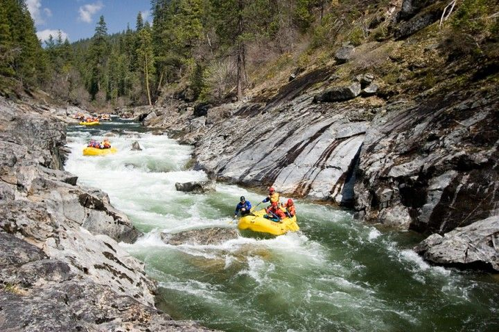 White Water Rafting California Map.Ready For The Best California Rafting Season In 5 Years