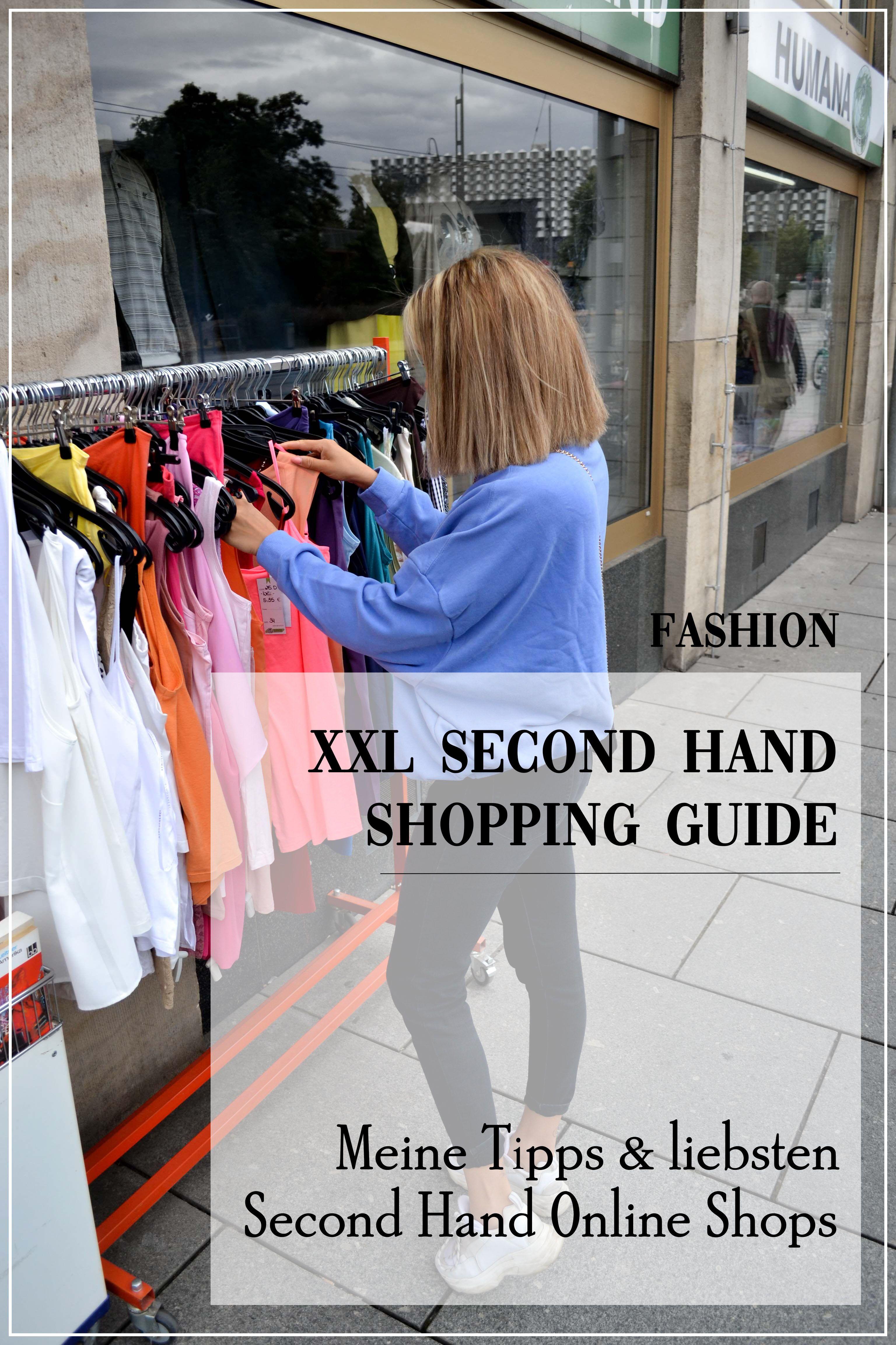 Xxl Second Hand Shopping Guide So Sparst Du Geld Beim Thrift